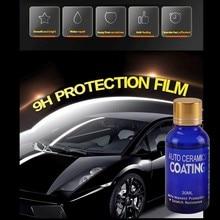 30ml 9H Automobile Nonflammable Ceramic Coating Practical Automobile Nanocrystalline Crystalline Coating Auto Parts