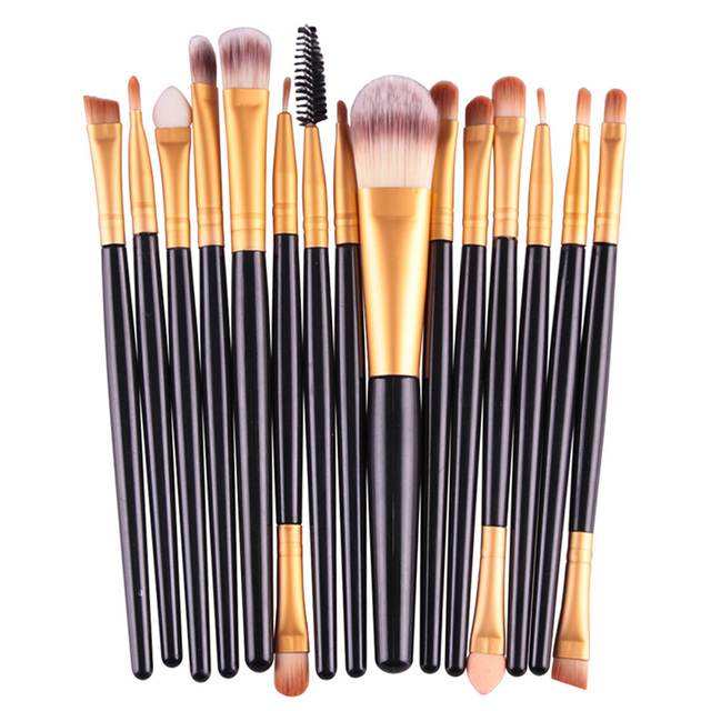 MAANGE 18/15/7Pcs Makeup Brushes Set Eyeshadow Brush Eyebrow Eyeliner Powder Blush Foundation Brush Pincel Maquiagem Beauty Tool 1
