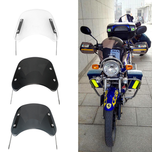 Image 2 - Accessori deflettore vento parabrezza moto 5 7 pollici per Suzuki Bandit Honda Hornet 600 Kawasaki Zephyr 750