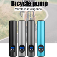 Wireless Smart Bicycle Pumps Handheld Portable Electric Bike Motorcycle Car Air Pumps Inflator WHShopping