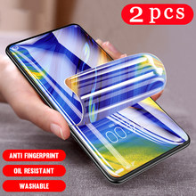 2Pcs for huawei honor 9N 9i 9S 9C 9X pro play 9A 9 lite full cover protective hydrogel film phone screen protector Not Glass