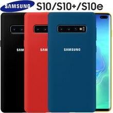 Samsung S10 Case Original Soft Liquid Silicone 360 Degree Full Protective Galaxy Plus S10e