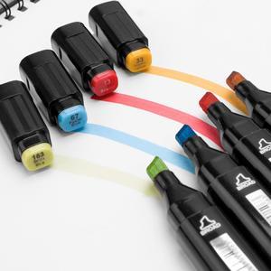 Image 4 - TOUCHFIVE rotuladores de punta ancha fina para boceto de arte, rotuladores de Anime, 36, 60, 80, 168 colores