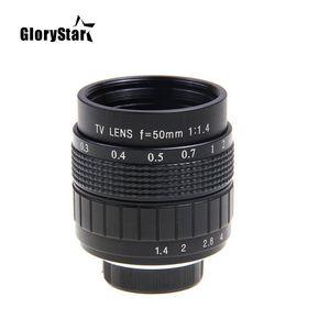 Image 3 - Объектив GloryStar 50 мм F1.4 CC для телевизора, кинообъектива, C Mount, макросъемки, кольцо для Canon EOS, EF, EFS, DSLR камеры 5D 6D, 7D, II, III, 70D, 80D, C EOS