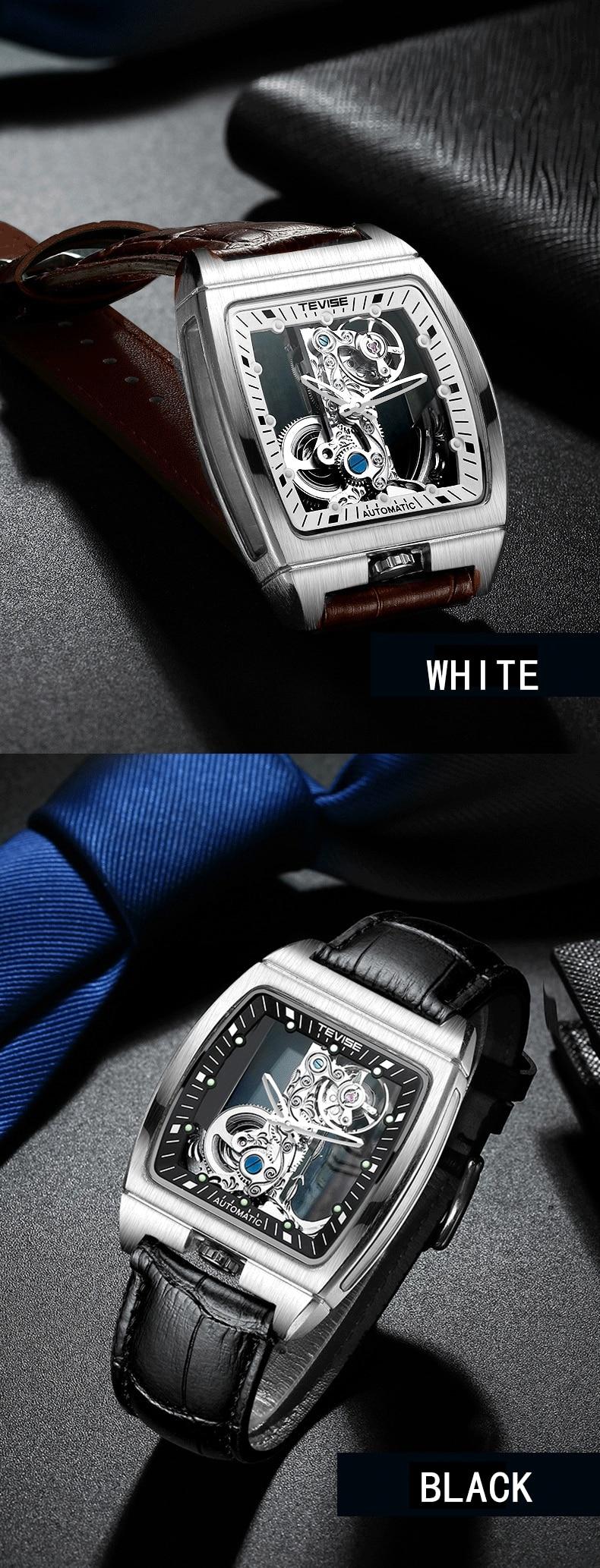 automático dos homens relógios marca de luxo
