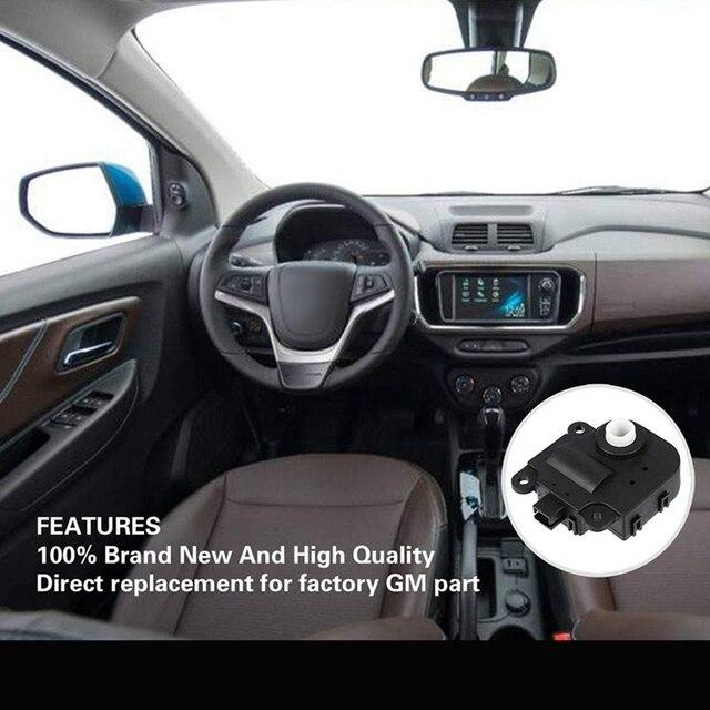 Car Air Door Actuator Blend Door Actuator for Chevrolet 2003-2012 Pontiac 2003-2010 Saturn 2003-2009 Replacement 52494371 158423