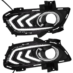 Image 4 - 2PCS Daytime Running Light For Ford Mondeo Fusion 2013 2014 2015 2016 Car DRL 12V LED With Turn Yellow Signal Relay Accessories