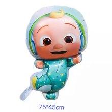 Cocomelon jj folha balão festa de aniversário suprimentos decoração látex balão de brinquedo crianças chuveiro do bebê