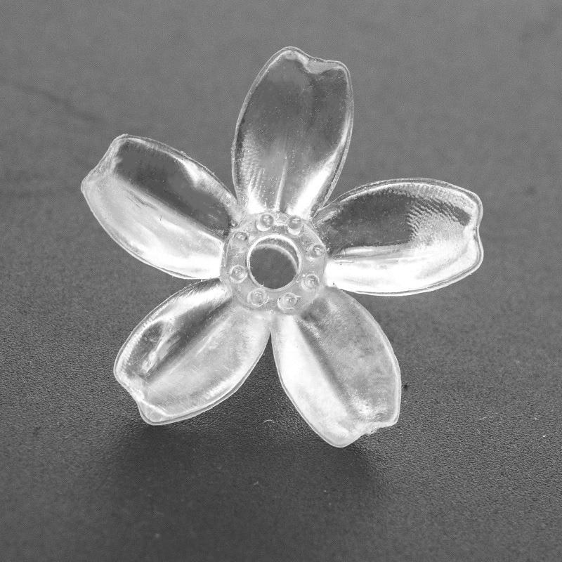 Вишневый цветок DIY Мягкие силиконовые цветы размер 2,8x1,5 см декоративные для гирлянды светящиеся гирлянды аксессуары 100 шт. в упаковке