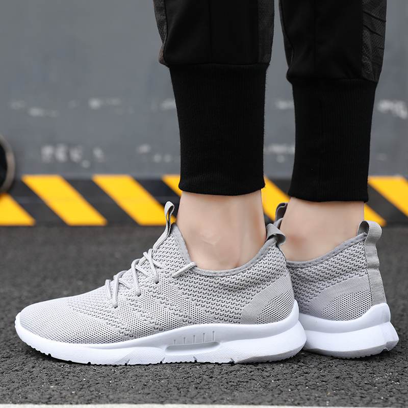 Damyuan New Lightweight men 39 s running shoes autumn and winter white comfortable warm men 39 s outdoor walking sports shoes in Running Shoes from Sports amp Entertainment