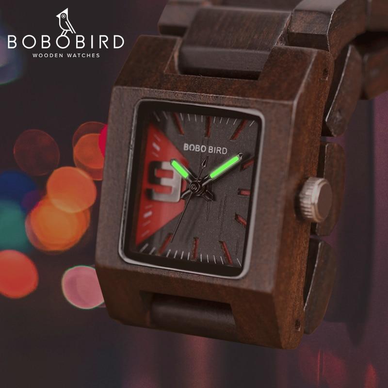 BOBO BIRD 25mm Small Women Watches Wooden Quartz Wrist Watch Timepieces Best Girlfriend Gifts Relogio Feminino