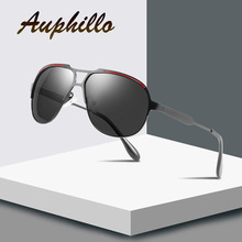 Polarized Sunglasses Men Luxury Brand Designer Metal Oversized Sports  Driving Glasses UV400 Eyewear Accessories