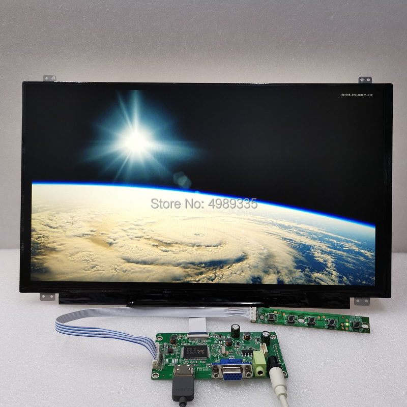 15.6 Inch High-definition Display HDMIvga Module Kit 1920X1080 Built-in Amplifier External Headphone Jack