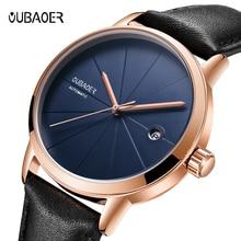 relojes 2019 OCHSTIN  Mechanical Watch Mens Top Brand Luxury Automatic Mechanical Watch Men  Leather Business Watches