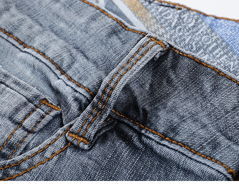KSTUN New Arrivals Mens Jeans Brand Slim Straight Regular Fit  Stretch 2020 Summer Denim Pants Jeans Men Vintage Cowboys Top Quality 16