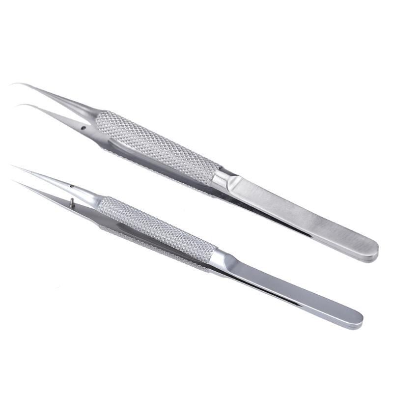 PHONEFIX Titanium Alloy Tweezers Professional Repair Tool For IPhone Mobile Phone Motherboard Fingerprint Jump Line Wire Repair