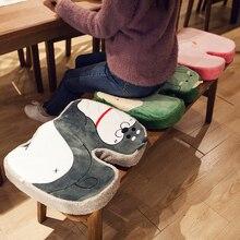 Memory Foam Pillow Chair Cushion Slow Rebound Memory Foam Pillow Thick Stool Non-slip Butt Cushion Office Sedentary Cushion