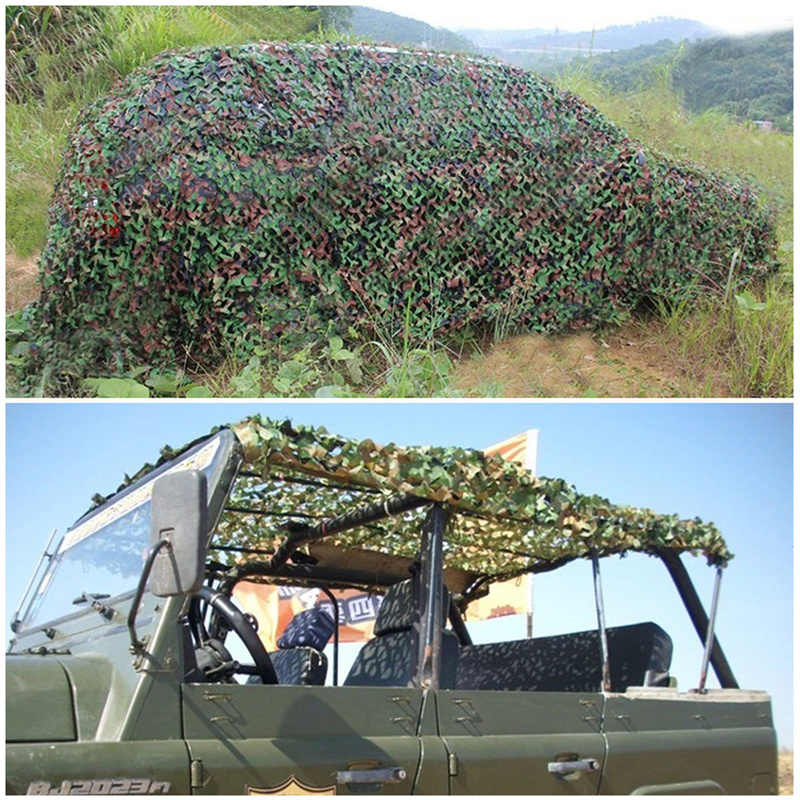 Camouflage Camo Net Netting Hide Hunting Military Army Woodland Camping FM