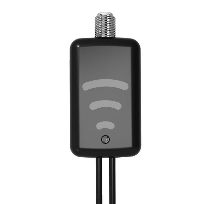 ТВ усилитель легко установить один усилитель для внутреннего HDTV антенна HD 1080P VHF усилитель УВЧ