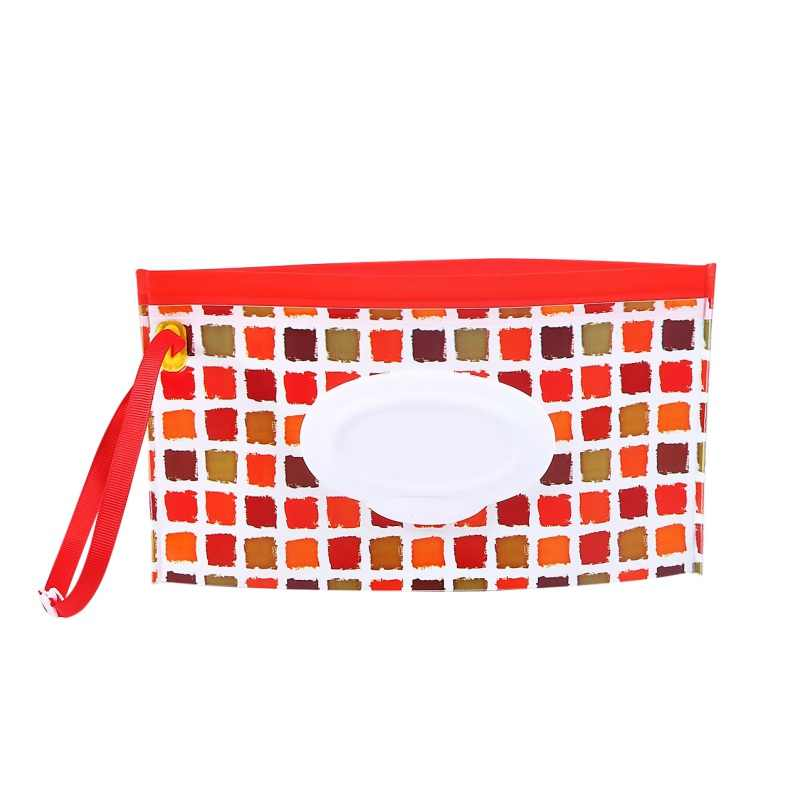1pcs Portable Baby Wipes Container Clutch Pouch Holder Travel Mother Diaper bag Reusable Diaper bag Refillable
