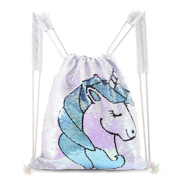 Многофункциональный рюкзак glorystar с блестками на шнурке блестящая