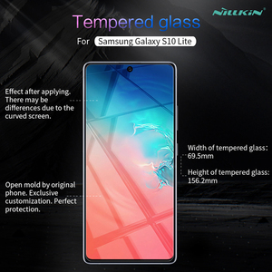 Image 2 - For Samsung Galaxy S10 Lite Tempered Glass Nillkin Screen Protector H/H+Pro Clear Glass For Samsung S10 Lite