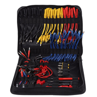 Serviço elétrico com saco de armazenamento kit de fio de teste de chumbo reparação automóvel resistente ao desgaste diagnóstico ferramentas de circuito durável profissional