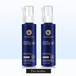 2Pcs Anti Hair Loss  Fast Hair Growth Essence Oil Treatment for Hair Groomed Growth Spray Liquid for Men/Women