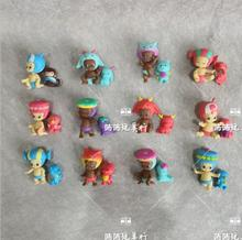 24PCS lot Cartoon Animal Dolls Cute Baby and Pets 3-5cm Kids Toys Home Decoration cheap CN(Origin) WJG026 Grownups 2-4 Years 5-7 Years 14Y 8~13 Years Persons Animals Plastic