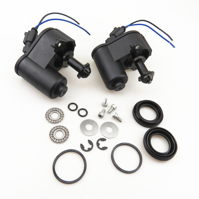 TUKE 12 Teeth Rear Wheel Brake Motor & Bearing Screw Kit+Cable Pigtail Plug 32332267 For Q3 VW Tiguan Passat B6 B7 Seat Alhambra