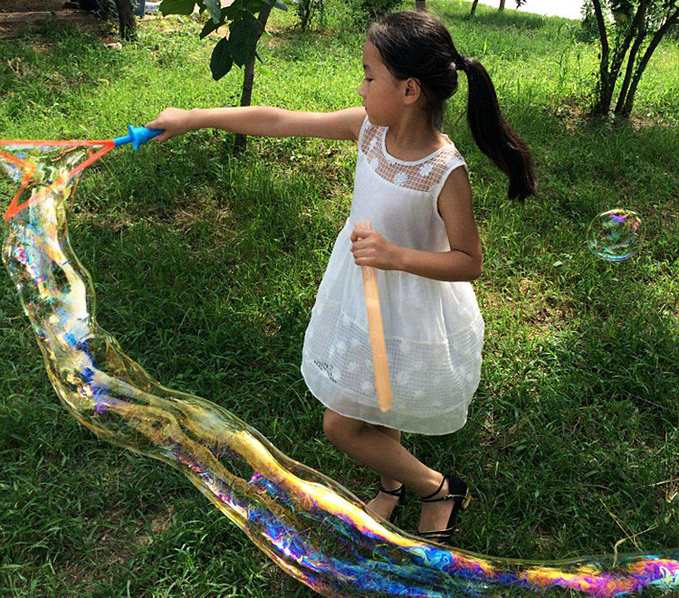 Bubble Wand Show Performance Tool Props Sacks Bubble Rope Big Bubble Sword Ring Gun Bubble Show Props Performance Tools