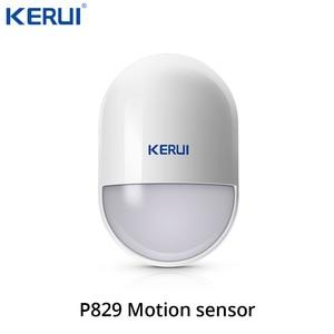 Image 5 - Keru iK52 Wifi GSM Alarm APP Control  Security System Burglar Intruder kit Door open reminder  Smoke Sensor