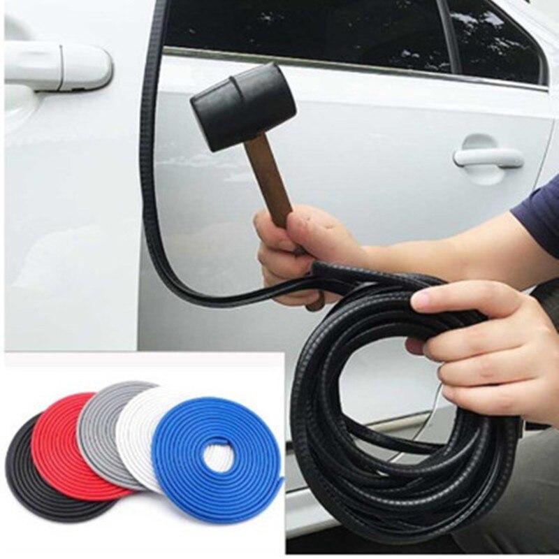 Araba sızdırmazlık bandı kauçuk Weatherstrip araba kapı kenar kauçuk conta U direği koruma çıkartmalar ses yalıtımı araba mühürlü şeritler