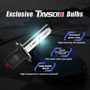 Image 2 - TXVSO8 Die Neueste 55W HID Auto Scheinwerfer Lampen Xenon H1 H3 H4 9005 HB3 9006 HB4 H8H9 H11 H13 h16 H27 Scheinwerfer Licht für Auto