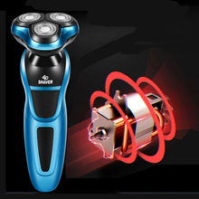 Electric Shaver 4D Floating Razor Head Rechargeable Shaving Machine Whole Body Washable Beard Trimmer Men Face Care Tools 40D