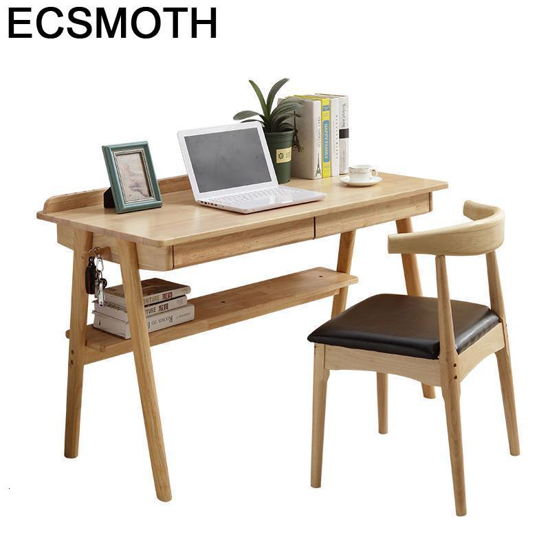 Ordinateur Portable Furniture De Oficina Small Escritorio Office Shabby Chic Tablo Laptop Stand Study Table Computer Desk