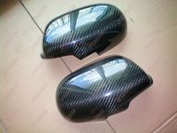 Carbon Fiber Put on Side Mirror Covers for 1995 1998 Nissan Skyline R33 GTR GTT