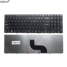 GZEELE новая клавиатура для ноутбука Packard Bell LE11BZ LE69KB TE11BZ TE11HC LE69KB с английским США