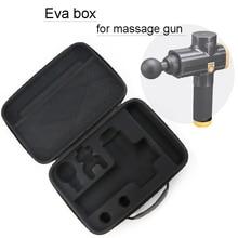 תיבת עבור עיסוי אקדח Hypervolt/פניקס/Tezewa נסיעות תיק נייד מקרה עמיד אור Storge מקרה תיק לעיסוי הוא לא כלול
