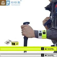 Youpin Miaomiaoce สายรัดข้อมือกระพริบสายรัดข้อมือสะท้อนแสง Slap Band Wrap สำหรับวิ่งกลางแจ้งกีฬารถเด็ก