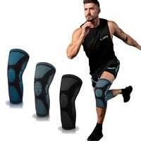 SKDK elástico de la rodilla deportes de Kneepad gimnasio equipo de rótula corriendo baloncesto, tenis, balonvolea rodilla rodillera soporte 1PC