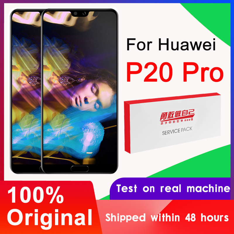 100% Original 6.1'' OLED Display For Huawei P20 Pro LCD Touch Screen Digitizer Assembly CLT-L09 CLT-L29 CLT-AL01 Repair Parts