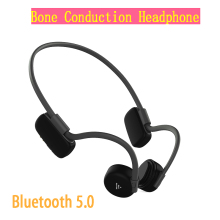 Bluetooth headphones 5.0 Bone Conduction Headsets Wireless Sports earphones Handsfree Headsets Hot sale new