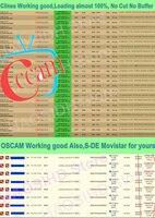 עבור dvb Oscam קליין פולין קליינס ספרד Ccam גרמניה עבור פורטוגל DVB S2 Enigma2 קולטן Cyfrowy Polsat Hotbird Movistar Cccams שרת (4)
