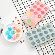 Silicone Candy Lollipop Mold chocolate sugar mould for lollipops cake decoration form round biscuit pastry baking tool 3D #0903(China)
