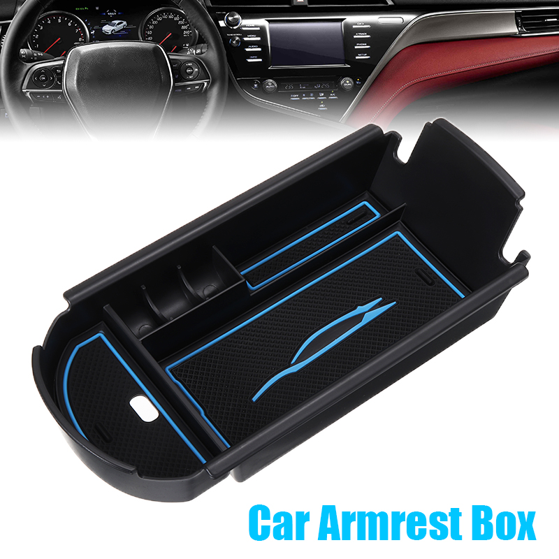1pc Car Armrest Box Storage Center Console Organizer Container Holder Box For Toyota C-HR CHR 2016 2017 2018 Accessories