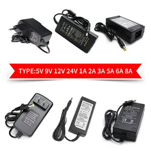 AC DC 12V 5V 6V 8V 9V 10V 12V Power Adapter 13V 14V 15V 24V 1A 2A 3A 5A 6A 8A 220V To 12V Power Supply Adapter 5 12 24 V Volt