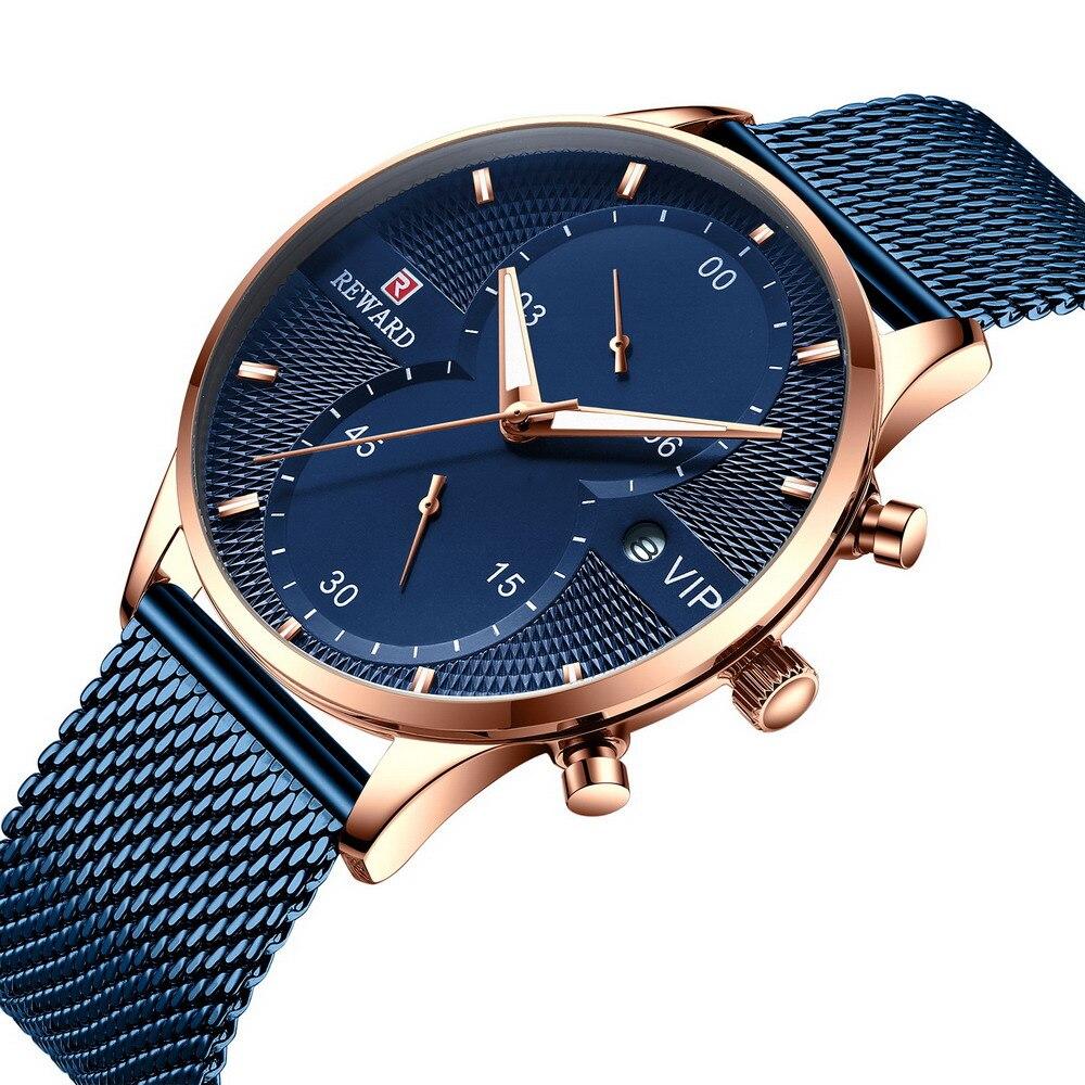 Reward Men Watches Top Brand Luxury Quartz Watches For Sport Waterproof Men Wristwatch Male Wrist Watch Montre homme