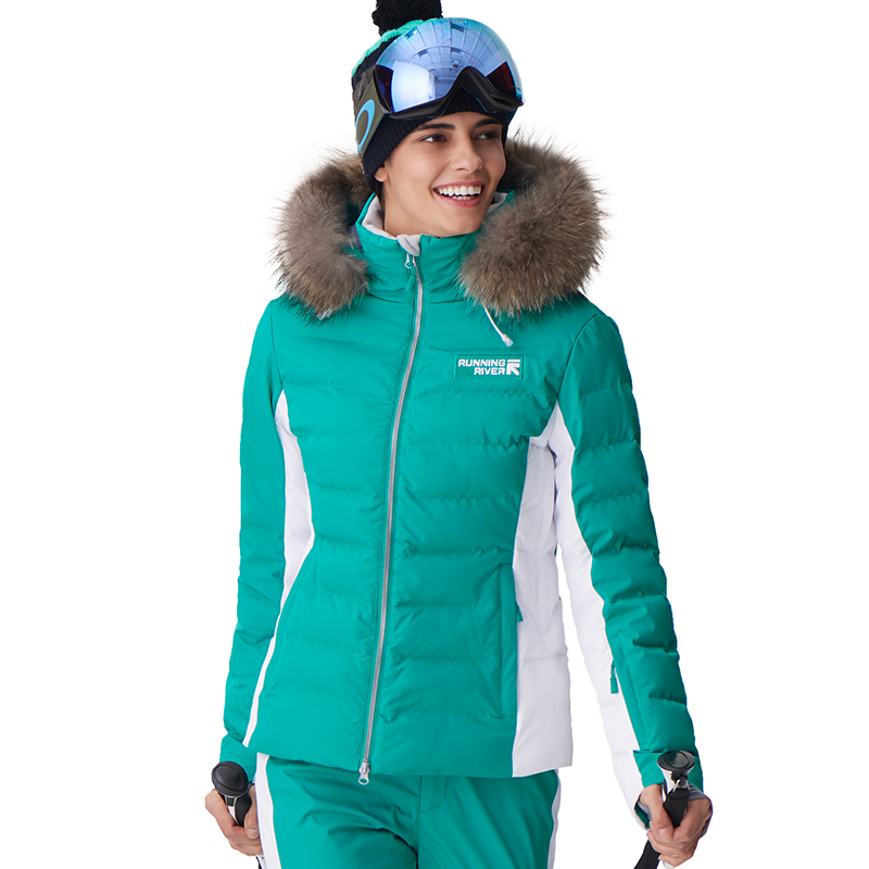 RUNNING RIVER Brand Women High Quality 2019  Winter Warm Thick Hooded Sports Jackets Professional Outdoor Ski Jacket #D7151