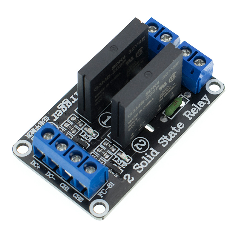 1pcs 5v 4 Channel OMRON SSR G3MB-202P Solid State Relay Module For Arduino M63